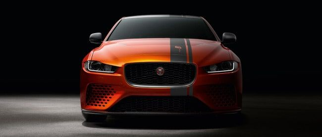 With 592 Hp And A Supercharged V8 Engine And Limited To 300 Cars Worldwide Project 8 Is The Most Powerful Road Legal Jaguar In Hi Jaguar Xe Jaguar Jaguar Car