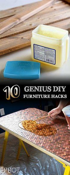 Top 10 Genius DIY Furniture Hacks