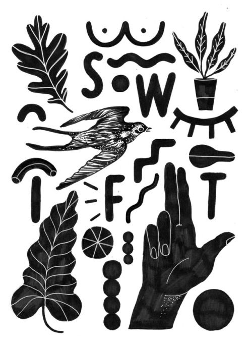 DAY 1 of #inktober2017 #ink #inked #Inktober #swift #swallow #hand #illustration