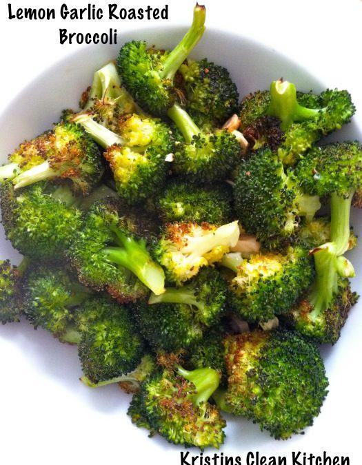 lemon garlic roasted broccoli lemon garlic roasted broccoli 1 bunch ...