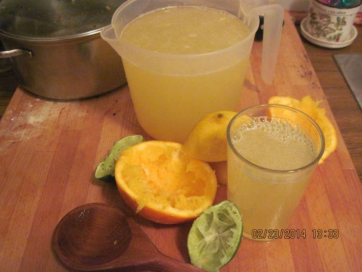 Max & Ruby´s Grandma´s lemon-limeade with Karen´s spearmint