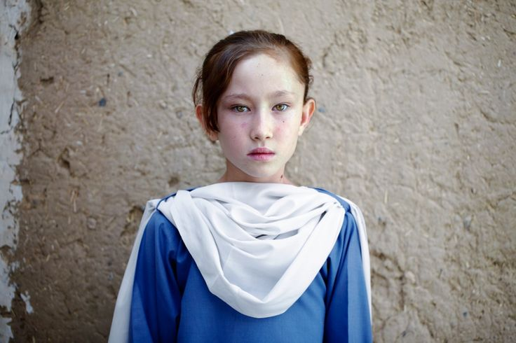 Rabiya, a young Hazara girl from Afghanistan living in Quetta, an area of Pakistan highly populated by Hazara people. (source)