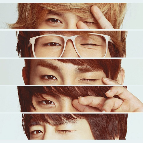 you know you're a Shawol when you can EASILY identify the members simply by their eyes. (aannnnnd being familiar with the photoshoot..)