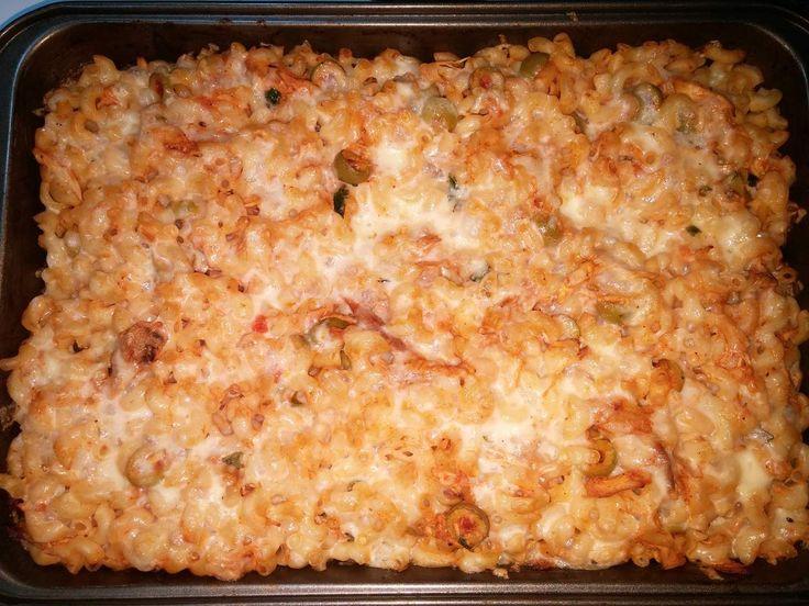Bonsoir mes copinautes, Voici une recette simple mais qui est très bonne, en tous cas moi j'adore ! Ingrédients : 500gr de macaronis petit coude (ou autre de votre choix) 1 Blanc de poulet cuit (reste d'un poulet rôti que personne ne veux terminer) 2...