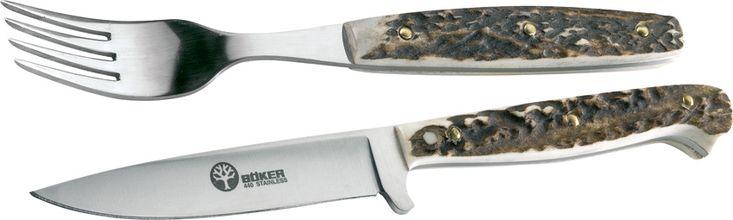 Boker Stamigo Knife And Fork Set knives 501HH - $94.18 #Knives #Boker