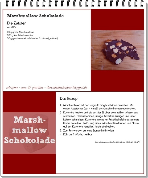 Marshmallow Schokolade: The Kitchen, Marshmallows Schokolad, Der Weihnachtsschickerei, Köstlich Geschenk, Chocolates Dreams, From The, Dreams Recipes, From My, Geschenk Aus