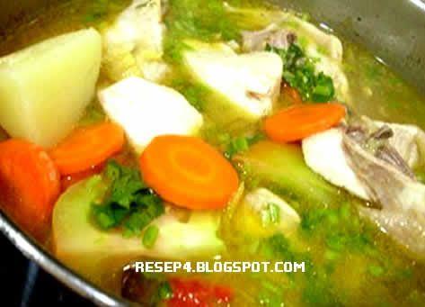 Resep Sup Ayam - http://resep4.blogspot.com/2013/06/resep-sup-ayam-yang-enak-gurih.html Resep Masakan Indonesia