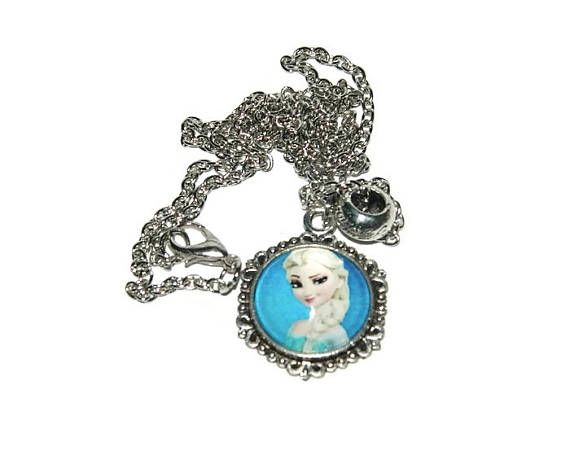Elsa Necklace Frozen Necklace Necklace For Girls Elsa