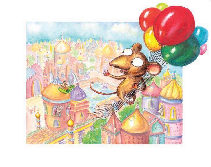 mouse illustration by Heather Soodak