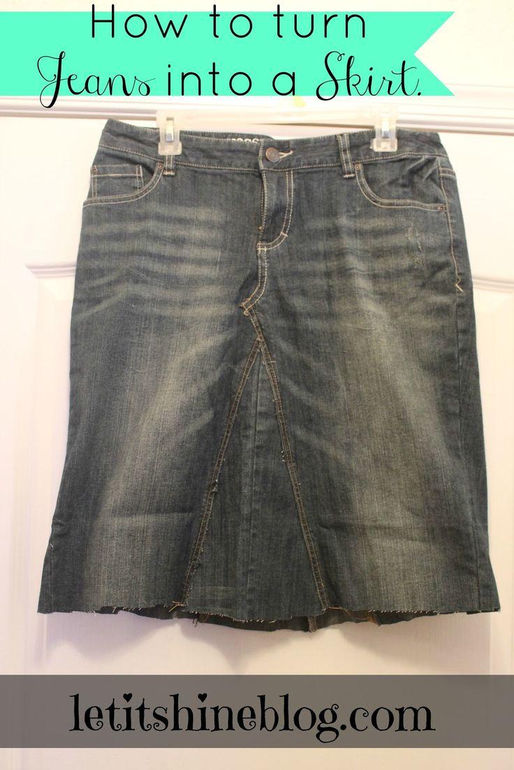 80 best diy skirt from jeans images on pinterest | children