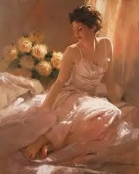 Painting by Richard S Johnson