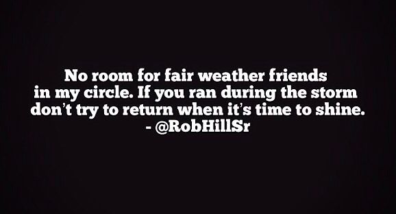 Quotes On Fair Weather Friendship – Best Quotes Collection