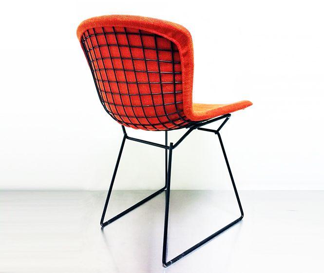 Mid Century Modern Knoll Bertoia Upholstered Side Chair | On Display At  Charlton Bradhser Art +