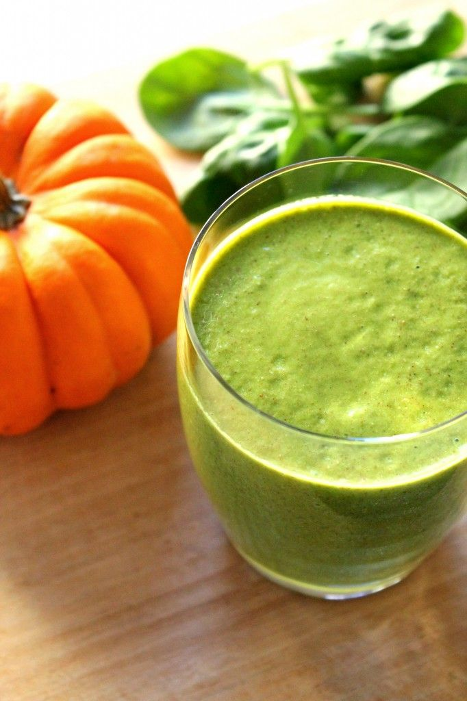 1.5 cups spinach 1/3 cup pumpkin filling (not pumpkin pie ...