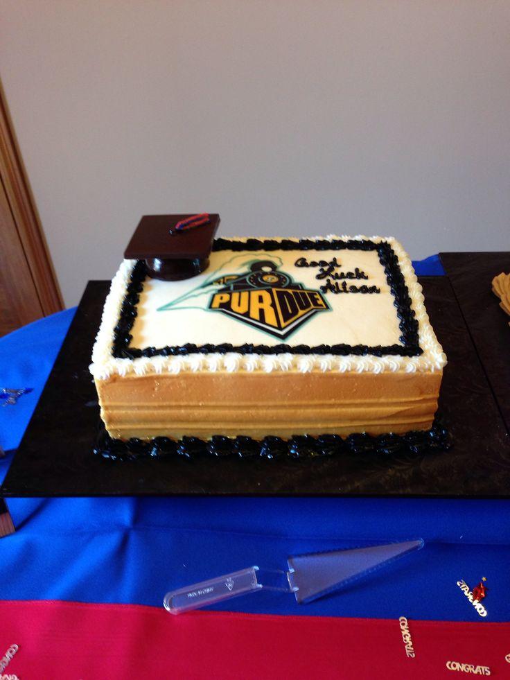 Purdue Cake Graduation Pinterest Cakes