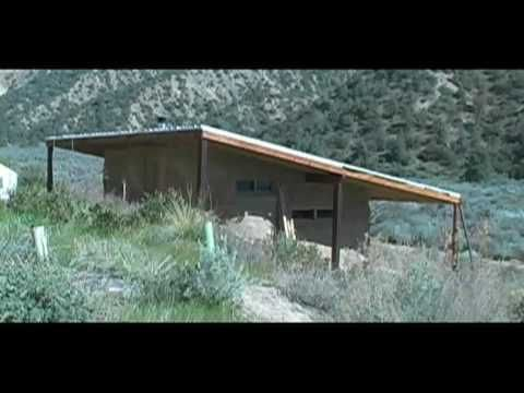 Natural Living:  creating a cob house