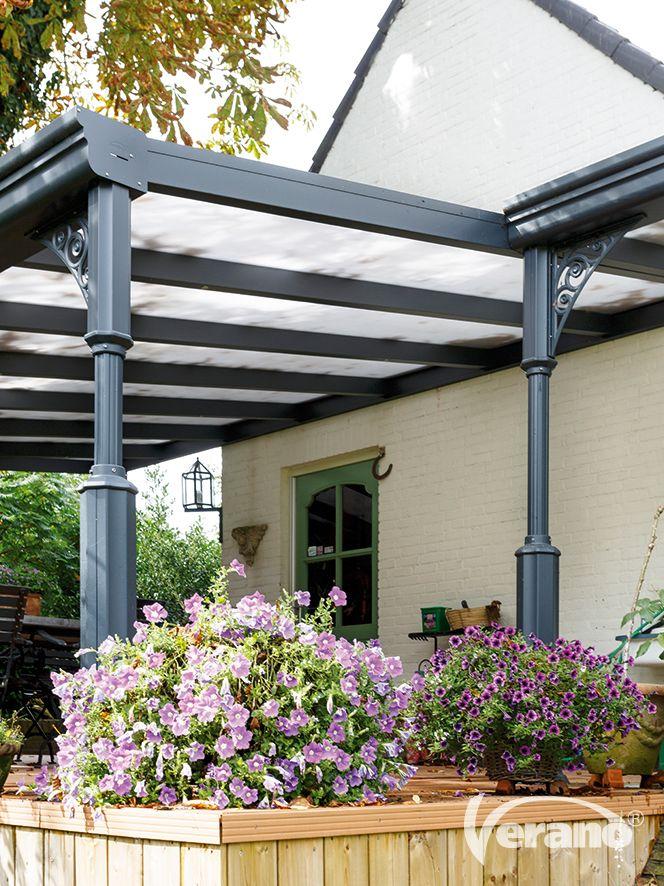 Een #terrasoverkapping vergroot uw leefruimte het hele jaar door! #Verano #veranda