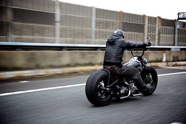Harley Davidson Chopper >> Bad Land - Yokohama, Japan.