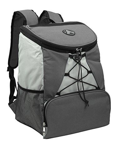 885e281a998 Large Padded Backpack Cooler - Fully Insulated, Leak and Water Resistant,  Adjustable Shoulder Straps