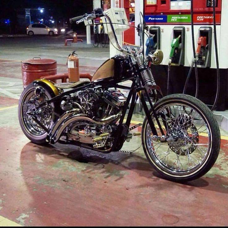 Harley Vintage Custom Bobber (20)