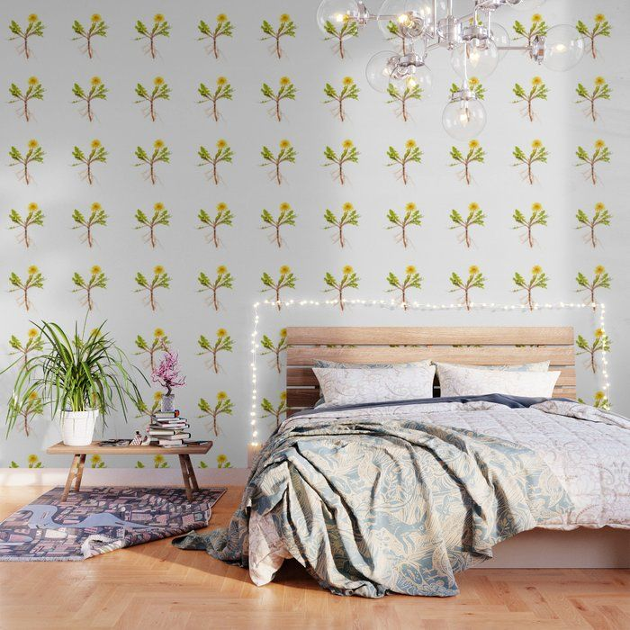 This Is Just Wild Seeing My Photos As Wallpaper I Don T Know Is It Working Do You Think Dandelion Wit Peel And Stick Wallpaper Fabric Panels Wallpaper