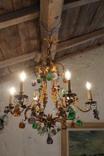 22c9722d54d3f590fe0ec874ee2fda3b  antik b%C3%BAtorok chandeliers 10 Merveilleux Lustre à Pampilles Kjs7