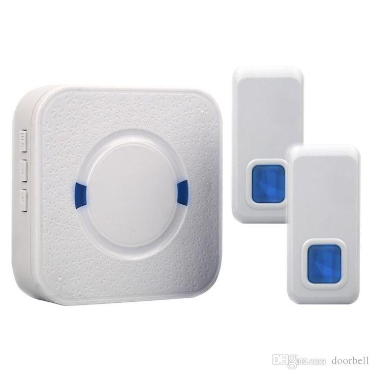 2017 Wholesale Doorbell Wireless Door Bell 2 Remote Control1 Wireless Digital Receiver Doorbell 55 Chimes Songs Waterproof Wireless Door Bells From Doorbell, $331.66   Dhgate.Com