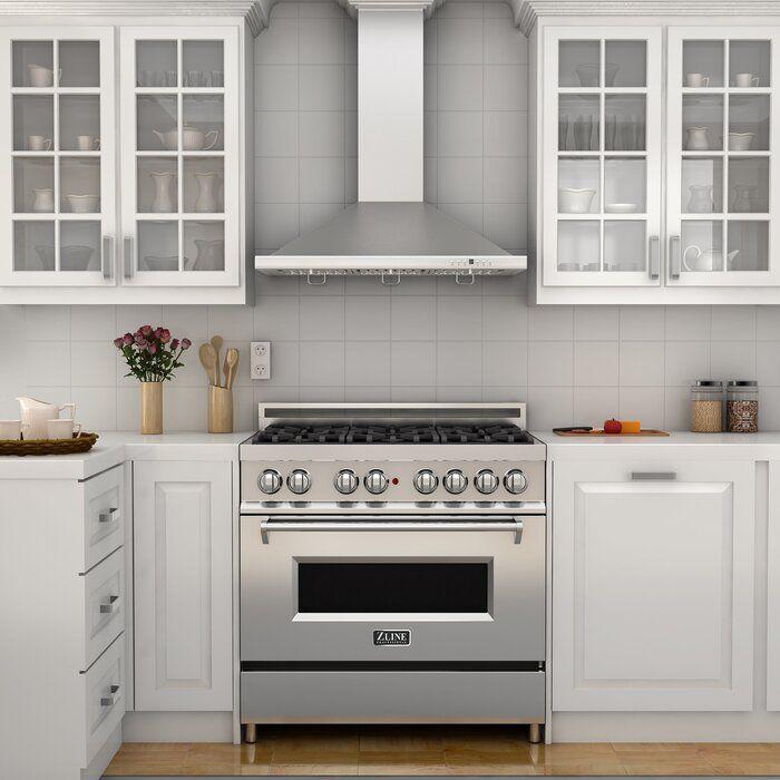 36 4 6 Cu Ft Freestanding Dual Fuel Range In 2020 Kitchen Range Hood Small Kitchen Kitchen Stove