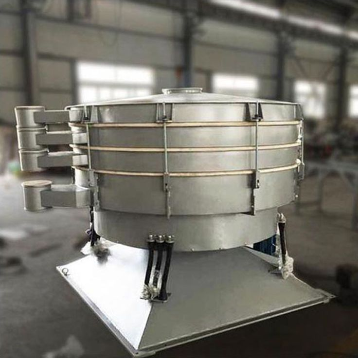Big output capacity rotary vibrating tumbler screen sifter separators for spices
