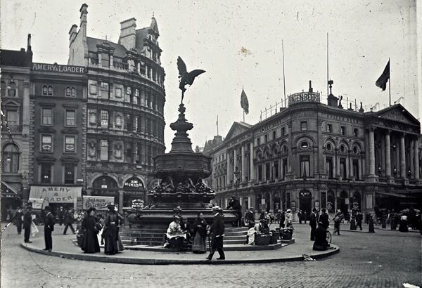 Piccadilly Circus, c.1880