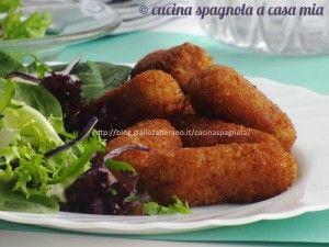CROCCHETTE DI POLLO. Ricetta tapas Cucina Spagnola A Casa Mia