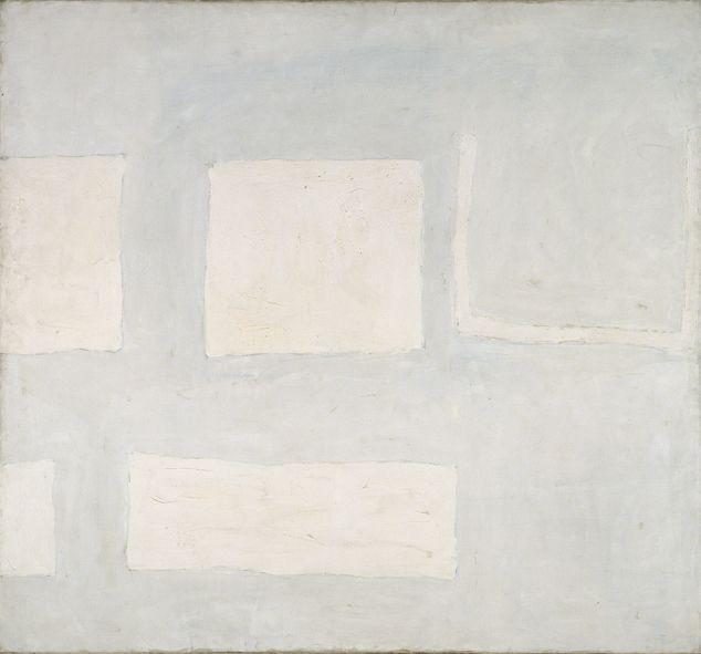 William Scott, Summer, 1960, Oil on canvas, 160 × 173 cm / 63 × 68 in, Modern Art Center of Calouste Gulbenkian Foundation Collection, Lisbon