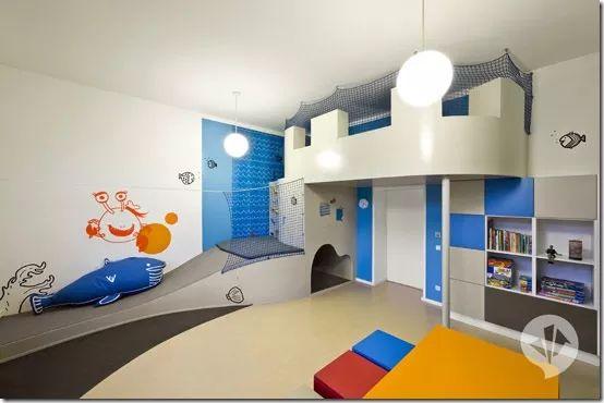 Детская Больница, Интерьер