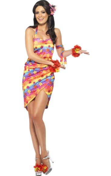 Adult Hawaiian Beach Beauty Costume in 2019 Partyyyy