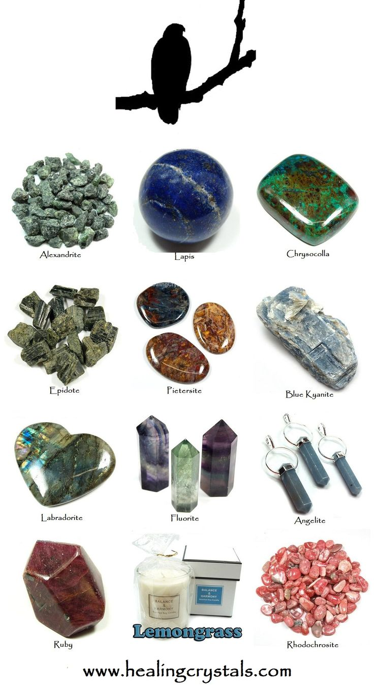Labradorite and Hawk Animal Totem - Daily Crystal Nugget - Information About Crystals As A Healing Tool