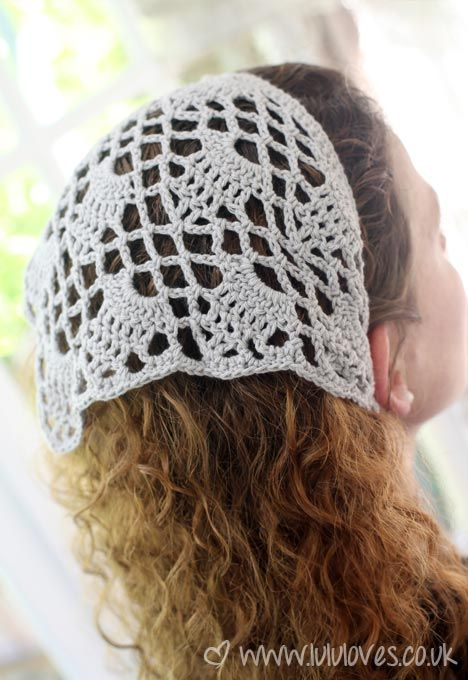 Lululoves Crochet Headscarf