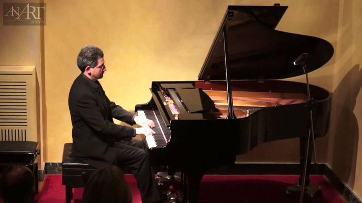Dimitris Anousis plays Grieg's Morning mood for solo piano