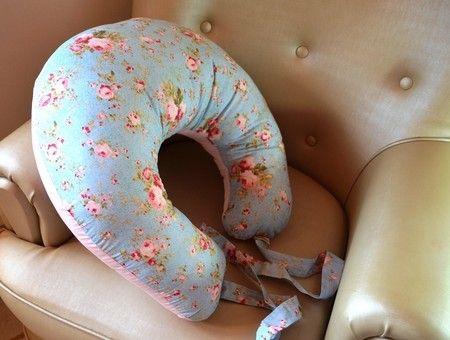 Almofada de Amamentação Floral