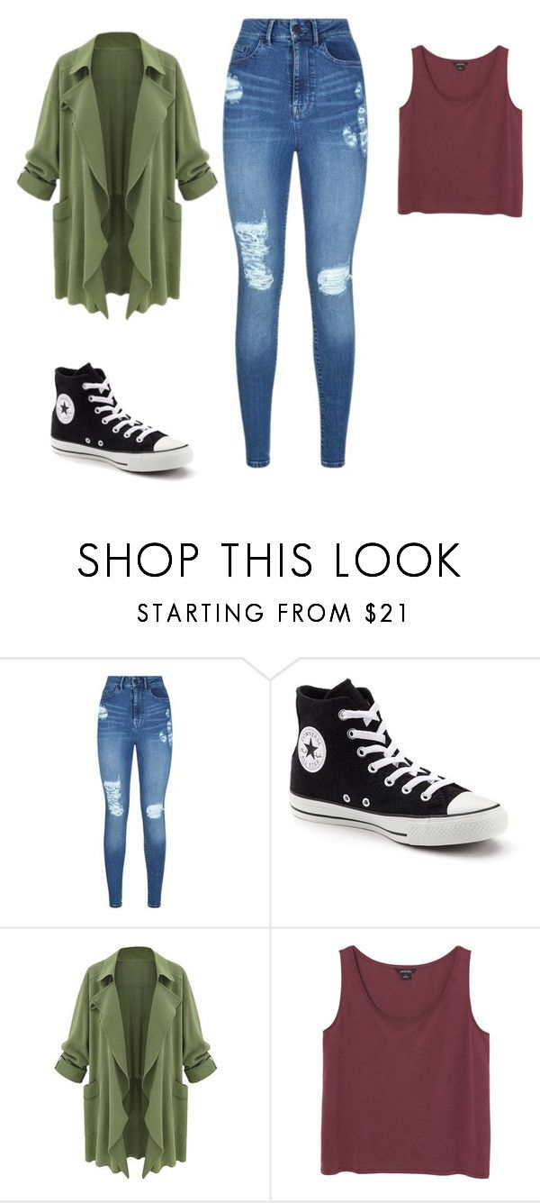 """Street Style"" by diovion-doakes on Polyvore featuring Lipsy, Converse and Monki"