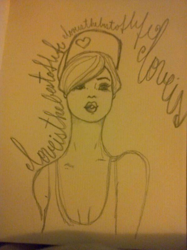 "Sketch ""Love girl"" by Moma"
