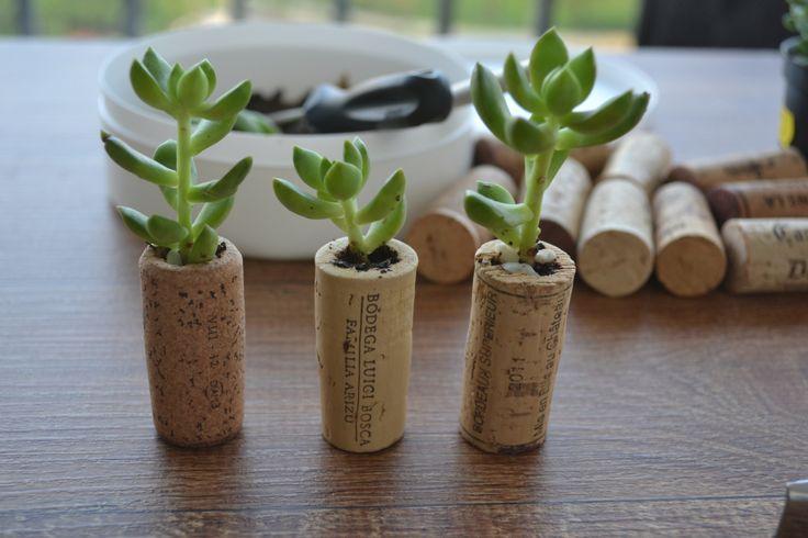 Para este post, selecionei algumas ideias para decoração com rolhas de vinho. São várias ideias legais como: quadros decorativos, vasinhos com rolhas de vinho, quadros de aviso, dentre outras coisa…