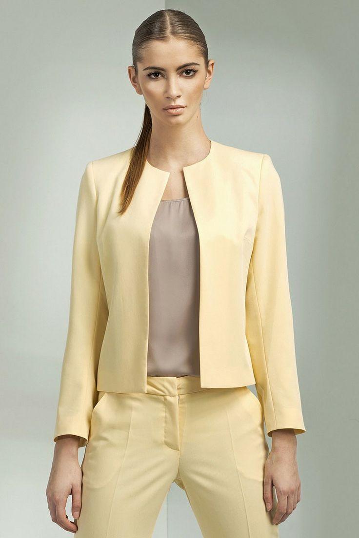 Veste chic femme beige