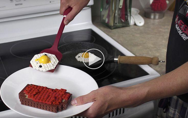LEGO-morgenmad er hård kost, men lækkert at se på