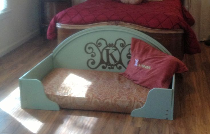 diy dog bed from goodwill things you need baby mattress cute shower