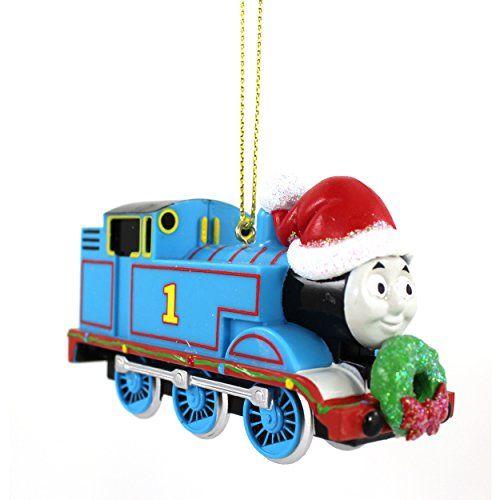 Train Christmas Tree Ornaments