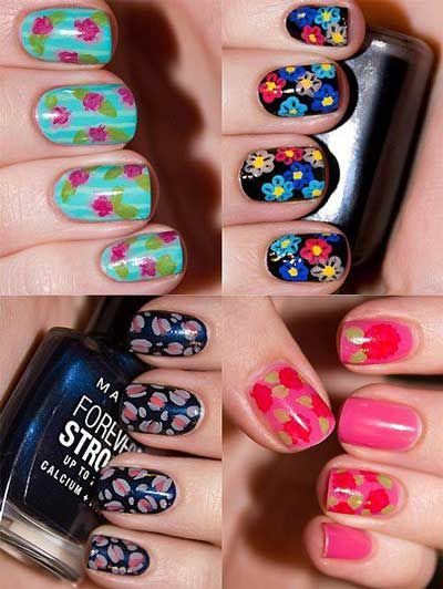 Nail Painting Ideas for Short Nails