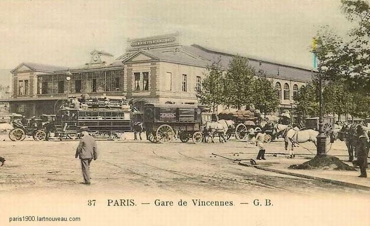 #photo #histoire Gare de Vincennes / Place de la Bastille (2) #PEAV @Menilmuche @HV10_Paris10