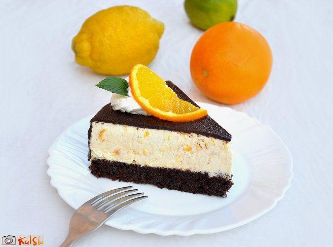 Čokoladno-pomarančna torta | Recipe