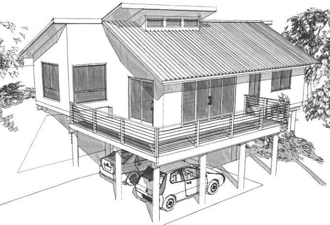 10 Best Houses On Sloping Blocks Images On Pinterest House Design Block Design And Arquitetura