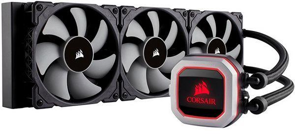 Corsair Hydro H150i Pro Low Noise 360mm Rgb Liquid Cpu Cooler
